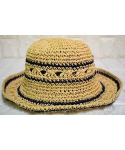 Ψάθινο γυναικείο καπέλο Ρ-451