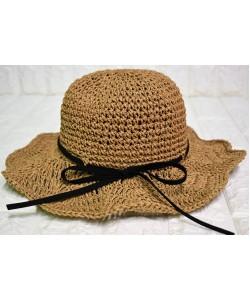 Ψάθινο γυναικείο καπέλο Ρ-452