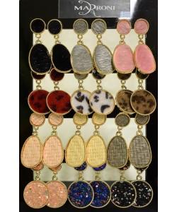 Σταντ με σκουλαρίκια 12 τεμαχίων κωδ.F0-212