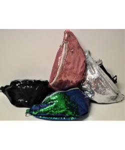 Τσαντάκι μέσης (beltbag) με παγιέτα  Μ-1000-3